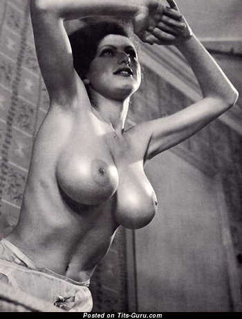 Image. Naked amazing girl with big boobs vintage