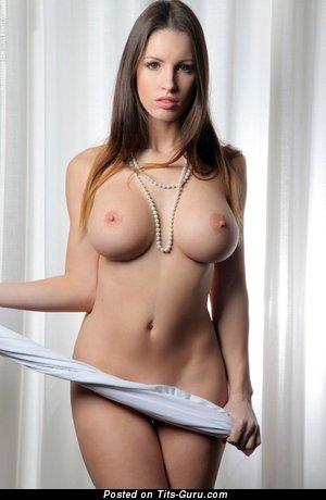 Image. Beautiful woman with big natural boob pic
