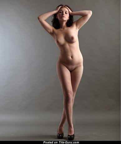 Image. Wonderful lady with medium natural boobs image