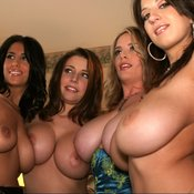 Wonderful female with big natural tittes pic