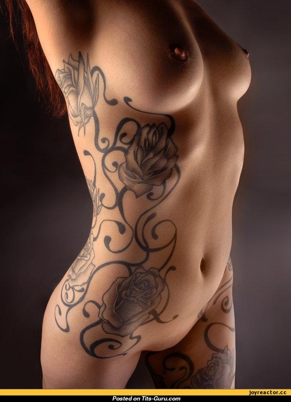 девушки татуировекими фото теле рисунки на с красивые секс