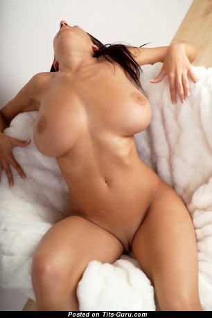 Naked wonderful female with big breast picture