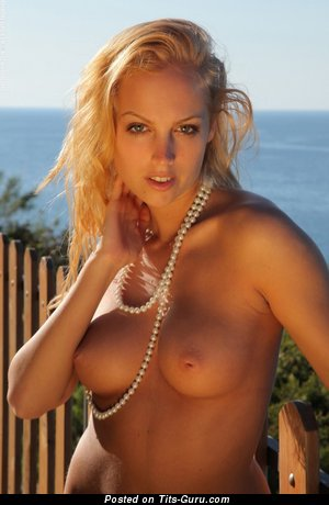 Image. Naked nice woman with natural breast picture