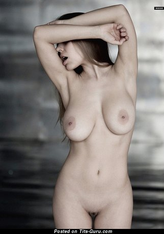 Image. Nude beautiful girl with big natural boob picture