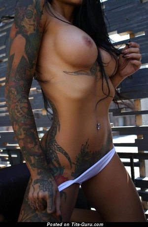 Alluring Naked Gal with Tattoo (Sexual Picture)