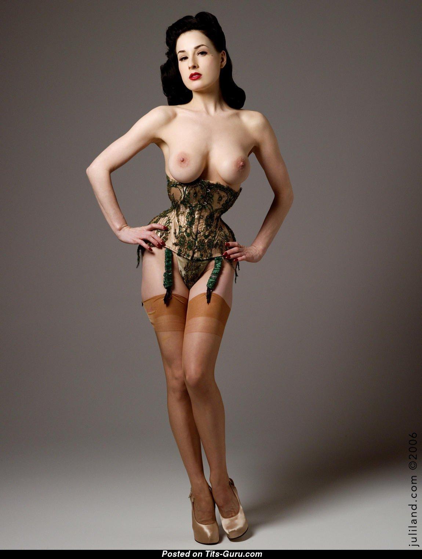 Has Dita von t nude