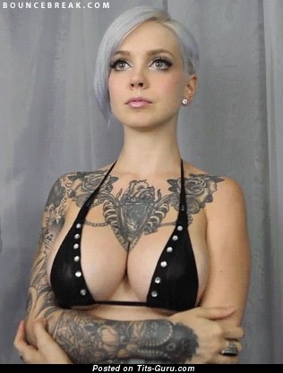 Image. Nude wonderful female with big boobies gif