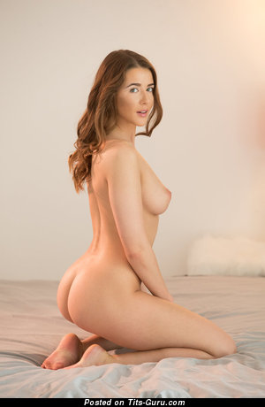 Image. Sybil - nude red hair with natural boob picture