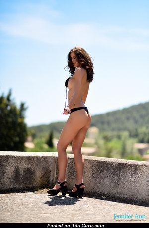 Image. Jennifer Ann - naked brunette with big boobs image