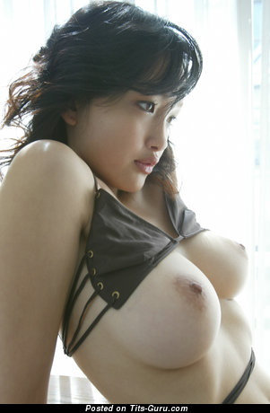Charming Asian Dish with Fine Defenseless Full Breasts is Undressing (Hd Sex Wallpaper)