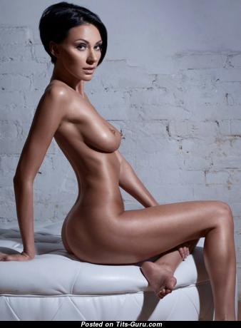 Yulia Pilushka Androschuk - Beautiful Topless Russian Brunette with Beautiful Defenseless Real Average Titty (Hd 18+ Pic)