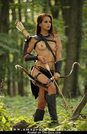 Fascinating Brunette with Fascinating Bald Real Minuscule Boobys (Cosplay Hd Sexual Picture)