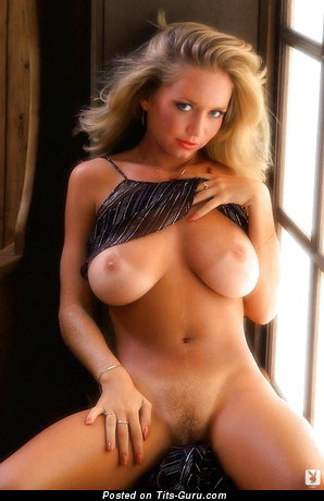 Image. Kym Malin - sexy naked blonde with big natural boobs vintage