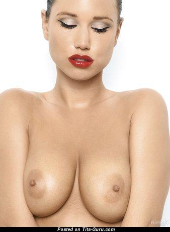 Doris Kemptner - Pleasing Austrian Red Hair with Beautiful Naked Real Tight Titties (Porn Image)