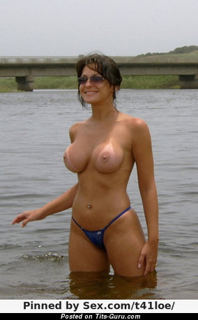 Image. Nude awesome female with big fake tits image