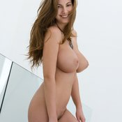 Connie Carter - sexy naked amazing lady with medium natural boob image