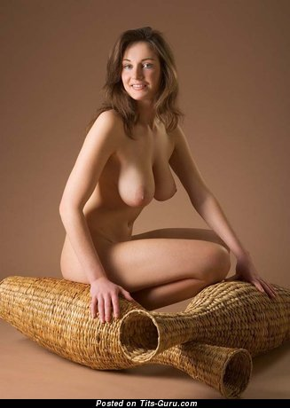 Image. Naked hot woman with big natural tots photo