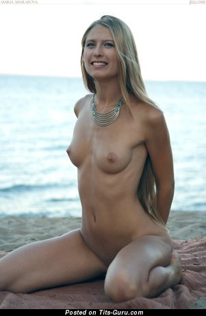 Maria Sharapova Exquisite Russian Blonde Babe With Elegant Nude Real Slight Hooters Hd Xxx