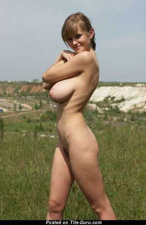 Image. Svanhild - naked hot lady with big natural breast image