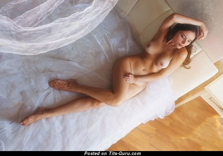 Image. Naked wonderful woman with natural tittes picture