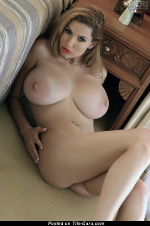 Image. Hot female with big natural tittes and big nipples pic