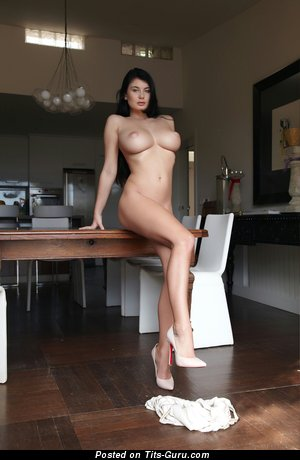 Image. Lucy Li - brunette with big tittes pic