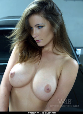 Kyla Cole - nude brunette with medium natural tits photo