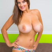 Valory Irene - awesome woman with huge natural boobs pic