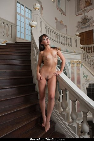 Image. Nude awesome woman with small natural breast image