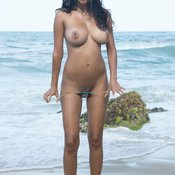 Kendra Roll - latina with big natural breast image
