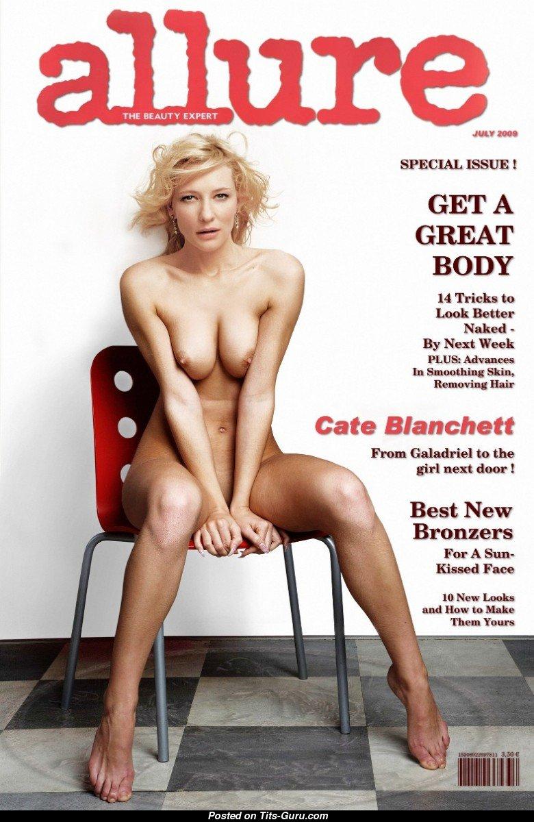 Cate Blanchett Topless