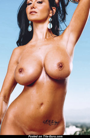 Ava Addams - Wonderful French, American Brunette Babe & Pornstar with Wonderful Nude Medium Sized Boobie (Private Hd Porn Image)