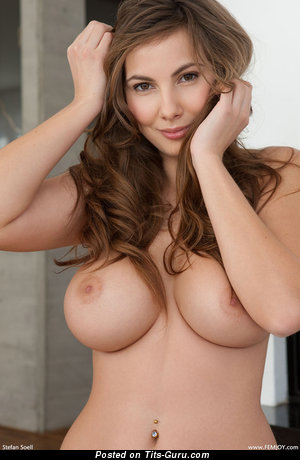 Image. Naked beautiful female with big boobies picture