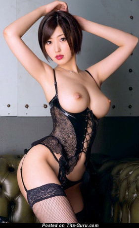 Image. Unknown - sexy asian brunette with big boobs photo