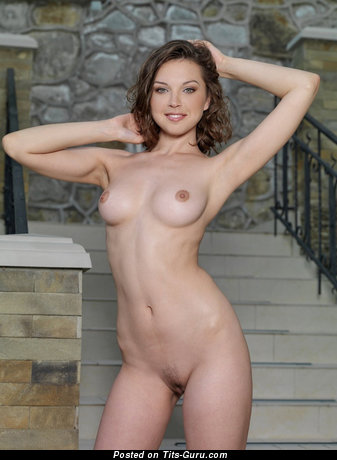 Image. Nude hot girl with medium breast pic