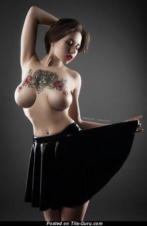 Image. Sexy wonderful woman with tattoo photo