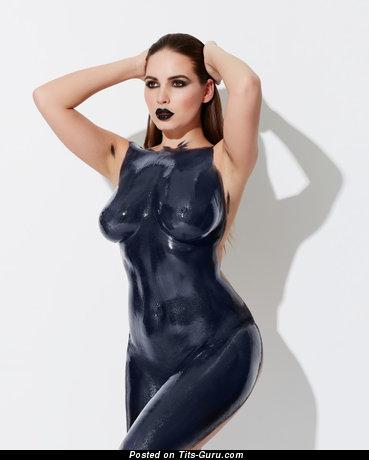 Image. Sabine Jemeljanova - naked beautiful female with medium natural boob pic
