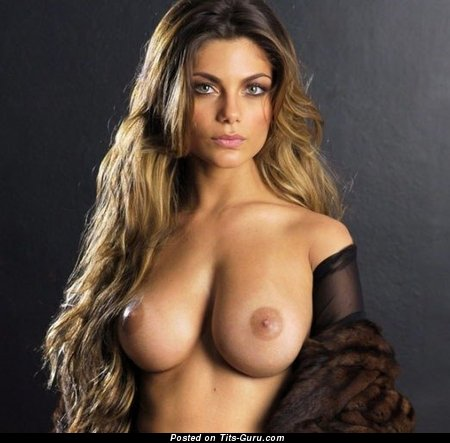 Lovely Moll with Lovely Naked Natural Sizable Tits (Xxx Pix)