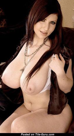 Karina Hart - Superb Czech Red Hair Babe with Superb Open Hefty Chest (Hd 18+ Image)