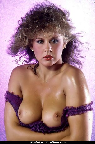 Linda Blair - Exquisite American Chick with Exquisite Bald Natural Medium Tittes (Hd Porn Picture)