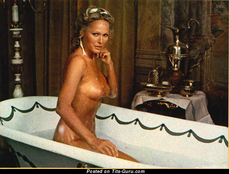 Image. Ursula Andress - hot girl with medium natural boob picture