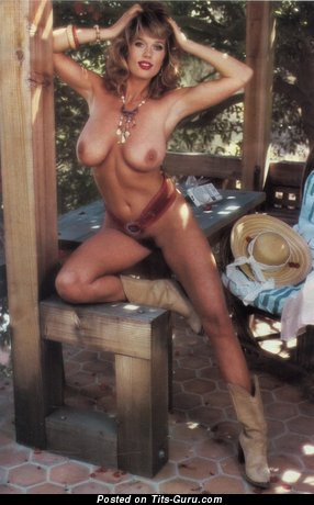 Image. Judy Smalley - sexy naked blonde with medium natural boobies vintage