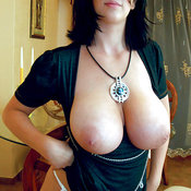 Amazing woman with huge natural tittys image
