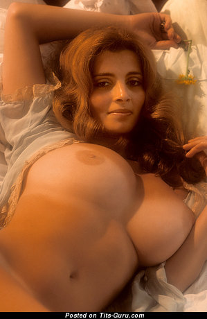 Janet Lupo - Superb American Playboy Red Hair with Superb Exposed Natural Great Hooters (Vintage 18+ Pic)