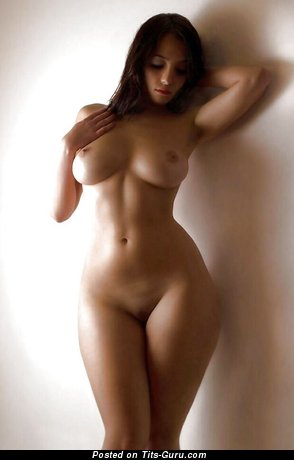 Good-Looking Lassie with Good-Looking Bare Real Substantial Boobie (Sexual Pic)