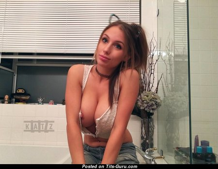 Good-Looking Babe with Good-Looking Open Silicone Tittys (Hd Porn Picture)