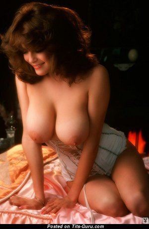 Image. Beautiful woman with big natural boobies vintage