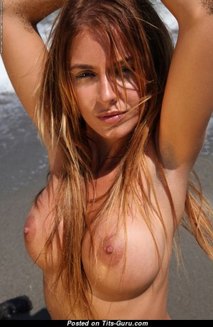Grand Babe with Grand Bare Sizable Knockers (Hd Sexual Wallpaper)