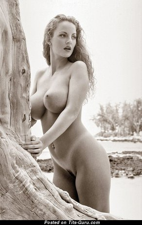 Image. Naked wonderful woman with big natural tits image