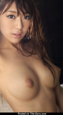 Nude asian with medium natural tittes photo
